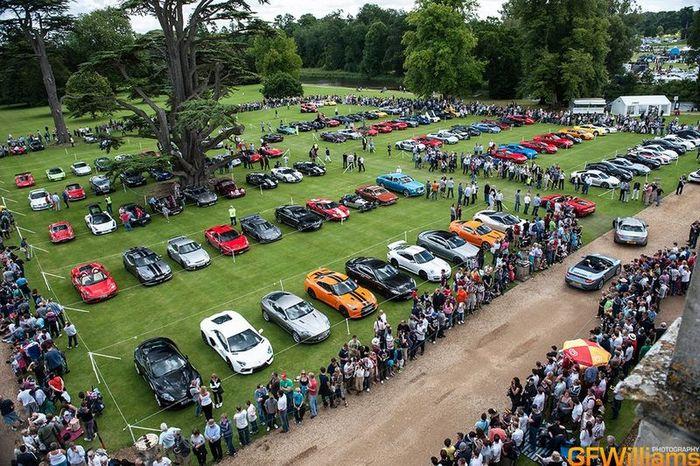 Фотоотчет с шоу суперкаров Wilton Classic and Supercars 2012 (86 фото)