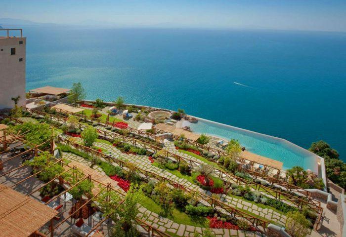 Живописный отель в Италии (39 фото)