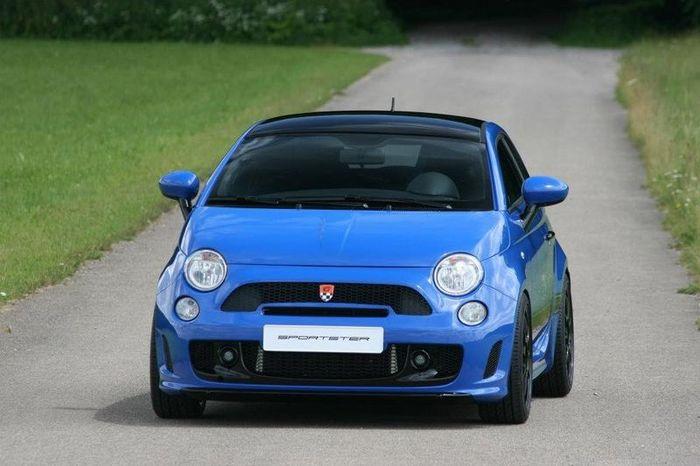 Тюнинг Fiat 500 от ателье G-Tech (18 фото)
