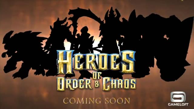 Тизер-трейлер новой игры от Gameloft (видео)