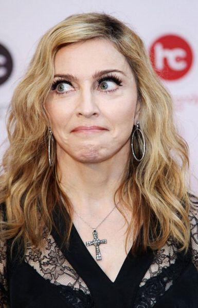 Мадонна посетила Москву (8 фото)