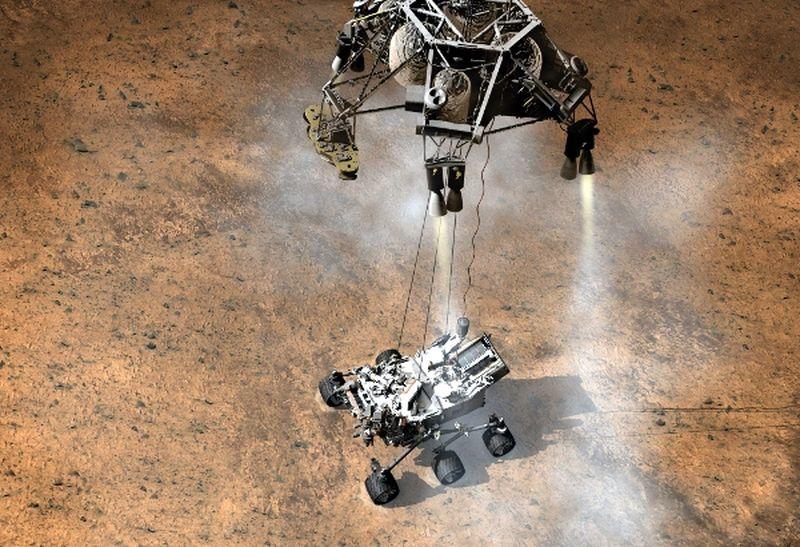 Первые фотографии с Марса (20 фото + 1 видео)