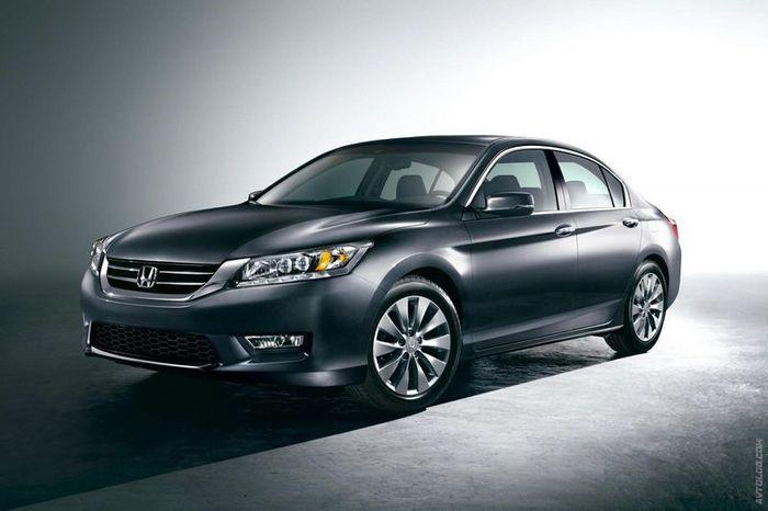 Компания Honda представила новую модель Accord (4 фото)