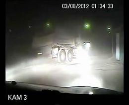 Погоня за Камазом в Иркутске