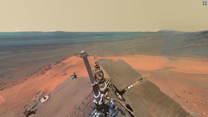 Качественная панорама Марса