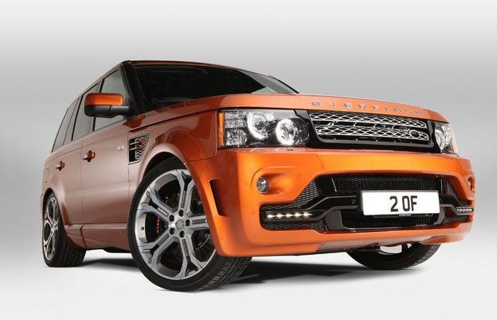 Ателье Overfinch представило новую работу Range Rover Sport GTS-X (10 фото+видео)