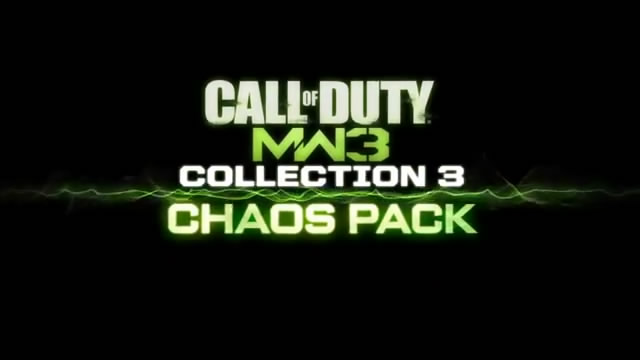 Видео Modern Warfare 3 – дополнение Chaos Pack (видео)