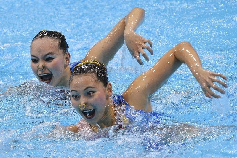 синхронное плавание приколы фото днем