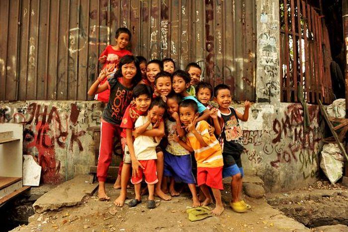 Один день в трущобах Джакарты и около (70 фото)
