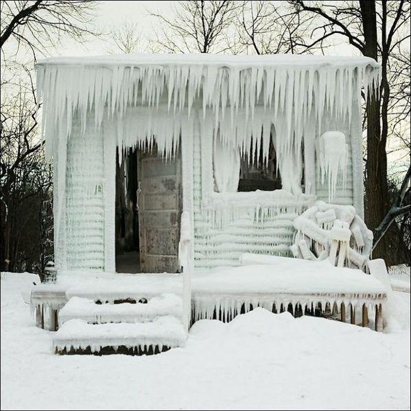 Зима пришла внезапно (5 фото)