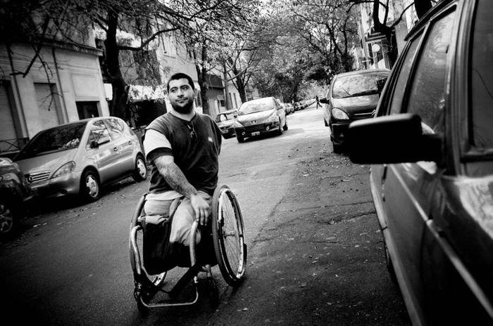 Аргентинская команда инвалидов баскетболистов (22 фото)