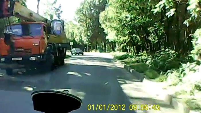 Авария дня часть 687 (фото+видео)