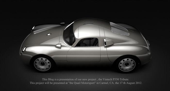 Карбоновый спорткар P550 Tribute от  компании Vintech (13 фото)