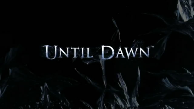 Анонсирован проект Until Dawn (видео + 6 скринов)