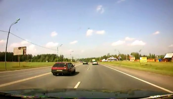 Авария дня часть 689 (фото+видео)