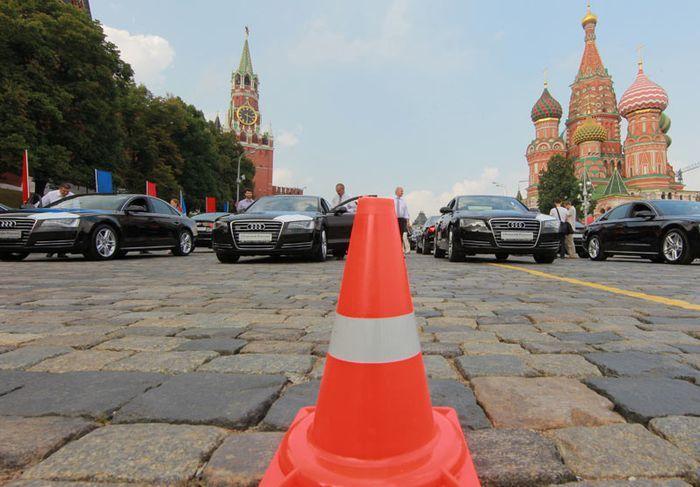 Российские олимпийцы 2012 получили по новому Audi (16 фото)