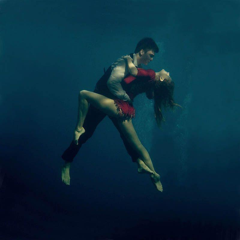 Танго под водой (9 фото)