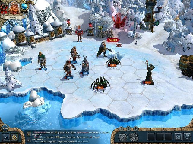 Kings Bounty: Воин Севера – бесстрашный полководец (9 фото+видео)