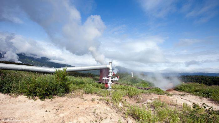 Самая первая геотермальная электростанция СССР (33 фото)