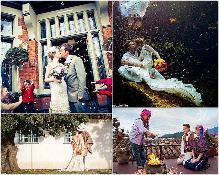 Пара поженилась 22 раза (24 фото)