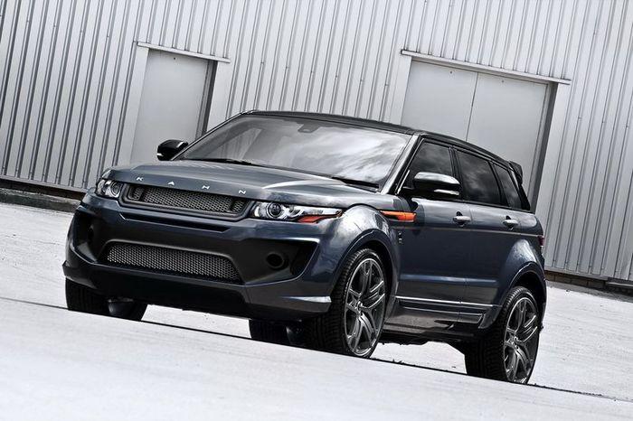 Range Rover Evoque от ателье Project Kahn (12 фото)
