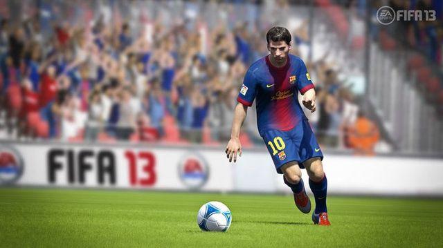 Скриншоты FIFA 13 - только Месси (5 фото)