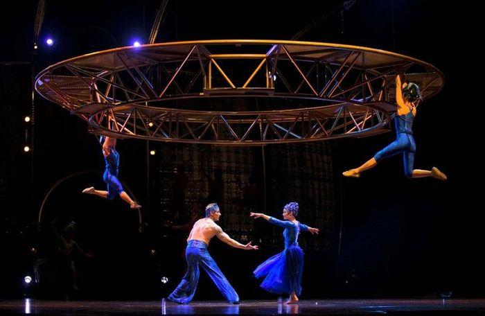 Шоу Цирка дю Солей: за кулисами (25 фото)