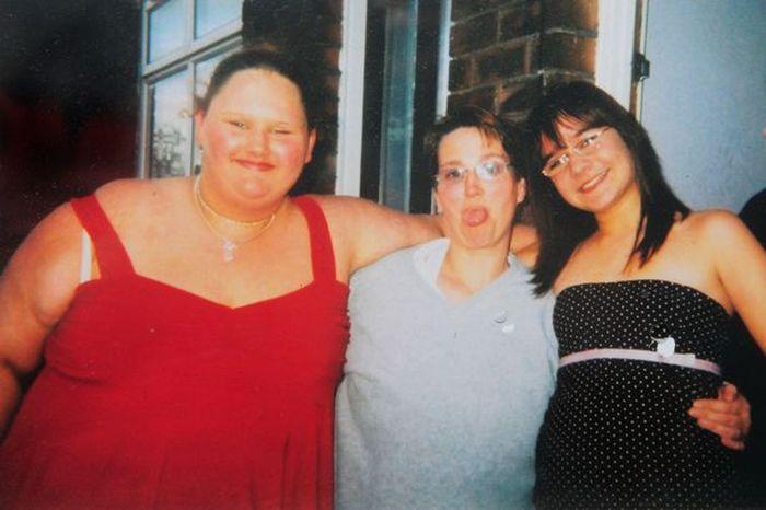 Из толстушки в худышку (3 фото)