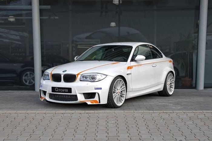 BMW 1M Coupe от ателье G-Power (4 фото)