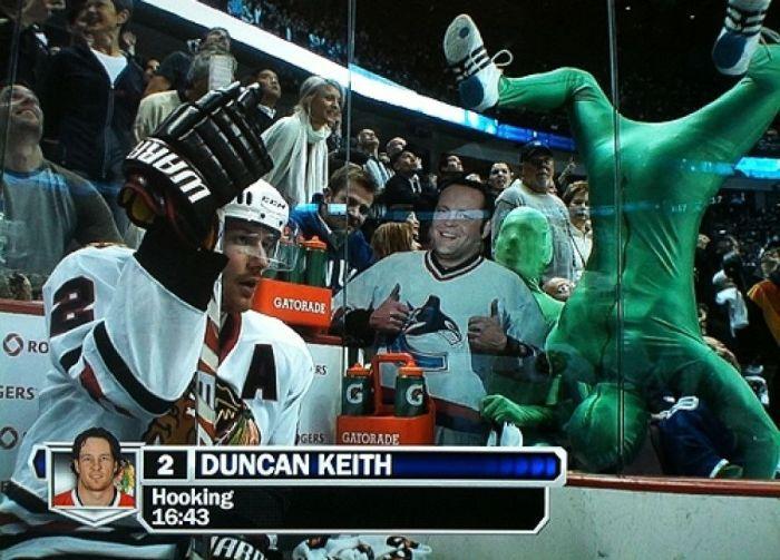 Яркие фанаты NHL (41 фото)