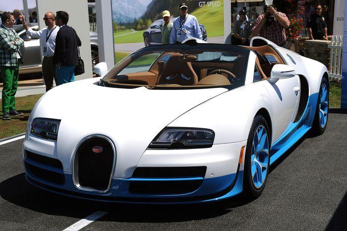 Bugatti Veyron 16.4 Grand Sport Vitesse SE в специальной окраске (18 фото)