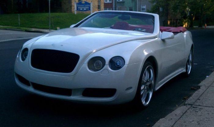 Bentley Continental GTC из редкого кабриолета Chrysler LeBaron Convertible (24 фото)