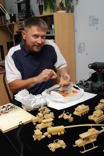 Житель Перми запатентовал автомобили из макарон (8 фото)