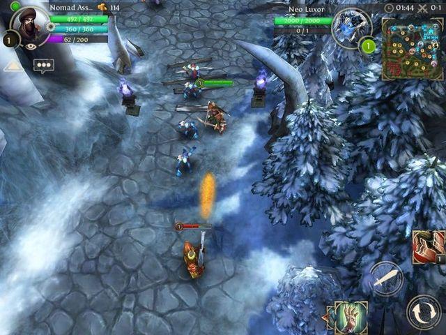 Первые скриншоты Heroes of Order & Chaos (3 фото)
