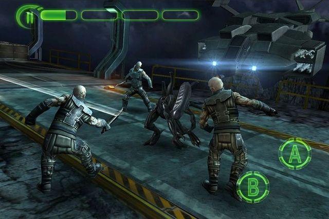 Скриншоты мобильной игры Alien vs Predator (4 фото)