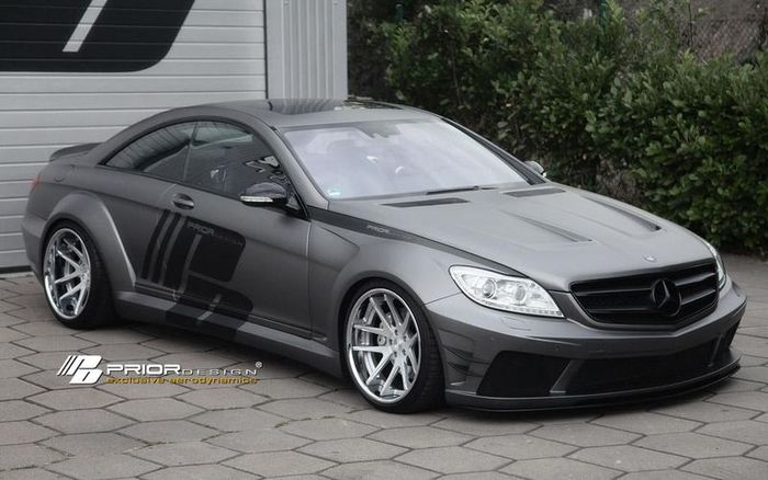 Mercedes-Benz CL (C216) в тюнинге от Prior Design (15 фото)