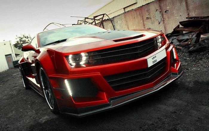 Chevrolet Camaro Guyver от арабских тюнеров из Chrome & Carbon (14 фото)