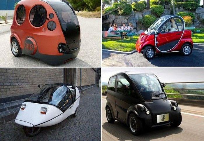 В пределах города. ТОП-10 самых необычных городских автомобилей (10 фото)