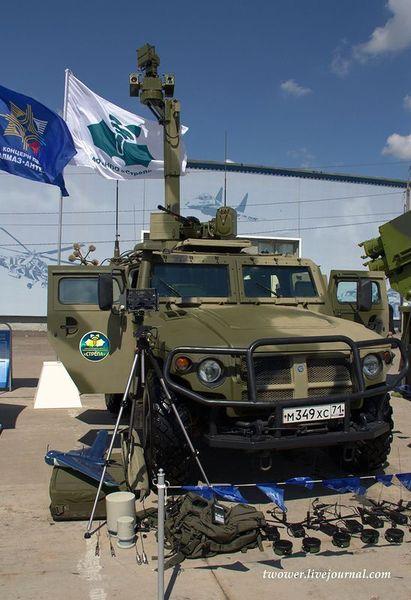 Служебно-боевая разведывательная машина СБРМ (18 фото)