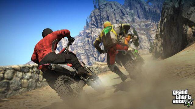 Скриншоты GTA 5 – активный спорт (3 фото)