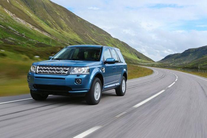 Компания Land Rover представила обновленный внедорожник Freelander 2 (62 фото)