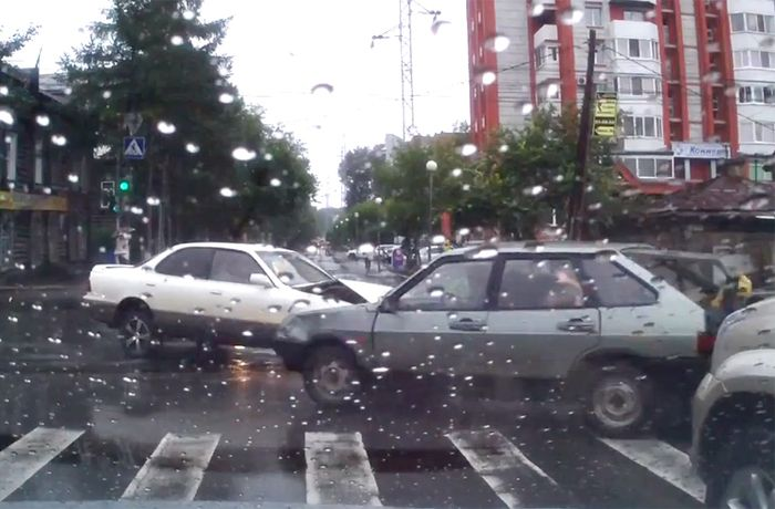 Авария дня часть 701 (фото+видео)