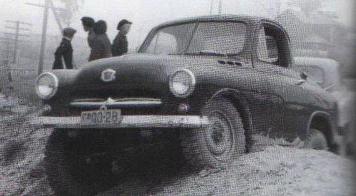 Советский безызвестный внедорожник (6 фото)