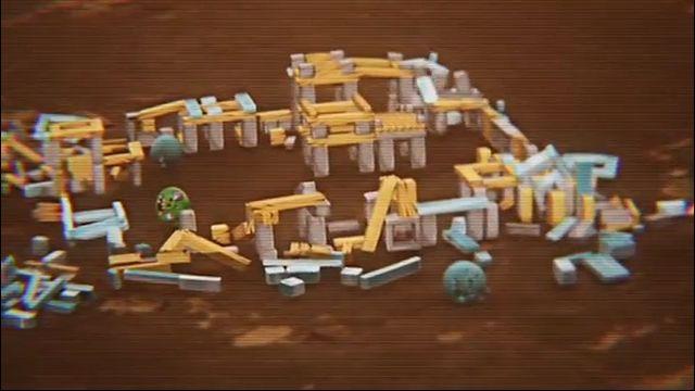 Трейлер Angry Birds Space - Марс (видео)