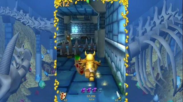 Бесплатная Runner-игра One Epic Knight для iOS (видео)