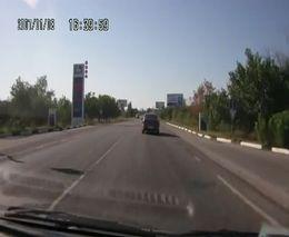 Бараны на дороге