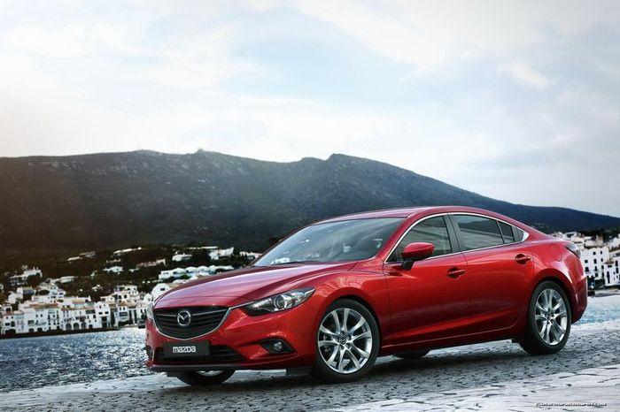 Официальные фотографии нового поколения Mazda6 (57 фото)