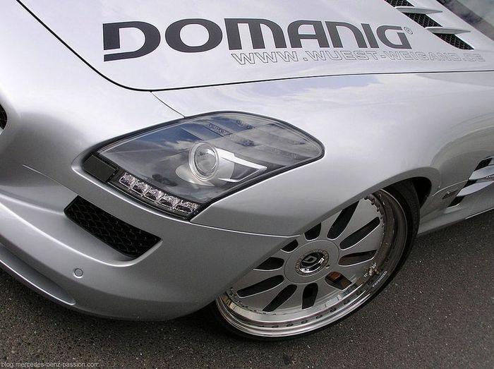 Mercedes-Benz SLS AMG от тюнеров из Domanig (11 фото)