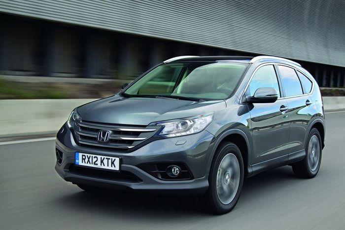 Компания Honda представила европейскую модель CR-V 2013 (95 фото)