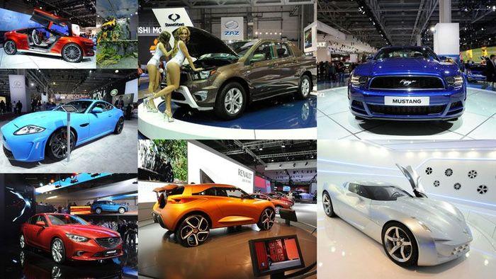 Московский международный автосалон 2012 (90 фото)
